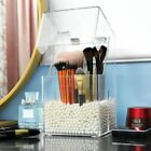 large grids cosmetic brushes organier holder storage box plastic cosmetic