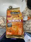 HotHands Adhesive Body Warmer Value Pack - Long Lasting - 6 Warmers. 2 Missing.