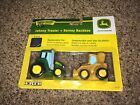 ERTL John Deere Barney Backhoe Johnny Tractor Squeeze Toys RETIRED TOMY TOYS NEW