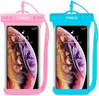 Waterproof Case Cellphone Dry Bag Pouch 2 Pack For Iphone Xs Max Xr Xs X 8 7 6S