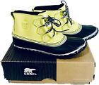 Sorel Women's Out And About Rain Snow Boots Water Leather SZ 65, 7, 75, 8 85