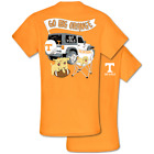 Southern Couture Classic Tennessee Vols Jeep T-Shirt
