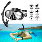 Kyпить Half Face Snorkel Mask Scuba Diving Free Breath Underwater Anti Fog Dry +Goggles на еВаy.соm
