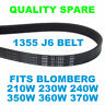 Blomberg 210W 230W 240W 350W 360W 370W Washing Machine Drive Belt 1355J6