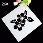 Cakes Stencil Side Fondant Mold Wall Decors Stencil Bakeware Pastry Tool PV-v
