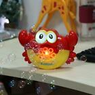 Automatic Crab Bubble Machine Musical Bubble Maker Bath Baby Toy Fun Bath Shower