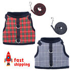 Pet Dog Vest Harness and Leash Set Small Dog Outdoor Walking Jackets Breathable