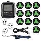 1 Mobile Wireless Wristwatch Receiver 10 Silicone Pager Transmitter Restaurant