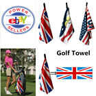 Golf Towel Clip Waffle Unisex Hook to Bag Belt Large Club Towel 1 Pc Gift Ping
