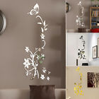 1x Art Mirror Wall Sticker Acrylic Decal Mural Home Room Decor 3 Colors 2019