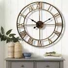 Wall Clock Modern Large Clocks Living Room European Style Iron Wall Watch fa