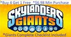 Skylanders Giants Complete UR Set w ✓list Wii U PS3 PS4 Xbox 360 One $5.98 Min👾
