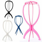 Wig Display Stand Mannequin Dummy Head Wig Cap Hair Holder Foldable Stable Tool