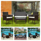 Rattan Garden Furniture Set Table Chair Sofa Table Outdoor Patio Set Yard New Uk