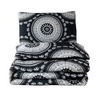 Bohemian Medallion Comforter Sets Boho Elephant Print Quilt Bedding Set Queen image