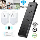 WiFi Smart Power Strip Alexa Google Wifi Surge Protector With 4 Outlets