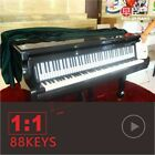 Portable Electronic Piano 88 Keys Beginner Light Roll Up Musical Instruments New