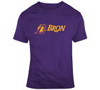 Lebron James LaBron T Shirt Los Angeles Lakers Men's T-Shirt Graphic Tee on eBay