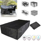 6 Size Waterproof Outdoor Patio Garden Furniture Rain Snow Cover For Table Chair