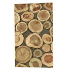 Waterproof Vintange Background Wallpaper Growth Ring for Wall Treatment