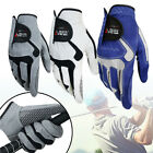 Soft Golf Gloves Microfiber Cloth Gloves Left/Right Hand Mens Outdoor Sports
