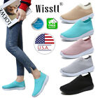 Women's Trainers Casual Mesh Sport Running Sneakers Slip Breathable Shoes 5 6 7