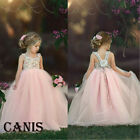 Kyпить Toddler Flower Girl Princess Dress Kids Baby Party Wedding Lace Tulle Sundress на еВаy.соm
