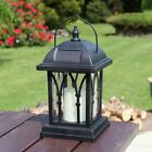Solar Power Flameless LED Candle Lantern Lights | Outdoor Garden Hanging Lamp Cj