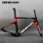 T1000 Carbon Road Bike Cycling Racing Aero Frame Fork 700C BSA Bicycle Frameset