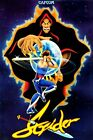 Strider Classic Arcade Side Art Wall Poster Capcom Multiple Sizes 11x17-24x36