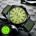 Men's SOKI Military Army Canvas Calendar Analog Quartz Sports Wrist-Watches image