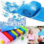 Ice Cold Instant Cooling Towel Running Jogging Gym Chilly Pad Sports Yoga image
