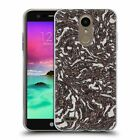 OFFICIAL ANDI GREYSCALE ABSTRACT STONES SOFT GEL CASE FOR LG PHONES 1