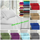 King Size Egyptian Comfort 1900 Count Series 4 Piece Bed Sheet Set Deep Fitted  image