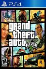 Grand Theft Auto V GTA5 PS4 Game Poster Multiple Sizes 11x17-24x36