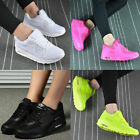 Womens Sport Gym Trainers Air Cushion Lace Up Sneaker Ladies Casual Shoes...