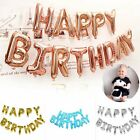16' HAPPY BIRTHDAY Letter Balloons Set Foil Balloon Banner Party Decoration