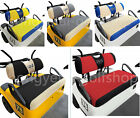 10L0L Golf Cart Bench Seat Cover Set Washable Mesh Fit EZGO Golf Cart US STOCK