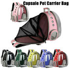 Puppy Pet Cat Dog Carrier Bag Travel Backpack Astronaut Space Capsule Breathable