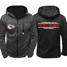 Kansas City Chiefs Hoodie Warm Jacket Sporty Sweatshirt Zipper Coat Autumn Tops $13.99 USD on eBay