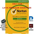 Norton Security Standard 2020 1 Year 1 Device Latin America Region Brand New