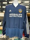 Adidas LA galaxy Training Top 19/20 LS Navy White LIMITED Size Mans XXXL  Only