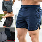 Mens Sports Training Bodybuilding Summer Shorts Workout Fitness GYM Short Pants