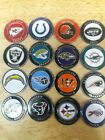 NEW NFL Team Magnetic Hat Clip w/ Golf Ball Marker Choose your Team