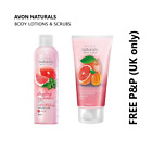 AVON Naturals Shower Gels, Body Lotions & Scrubs **FREE P&P** MULTIBUY DISCOUNTS
