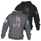 Mens Print Hoodie Hoody Pullover Gym Jacket Sweater Tops Jumper Sweatshirts Coat