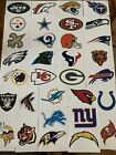 NFL Logo Football Decal Stickers Choose Your Team $1.29 USD on eBay