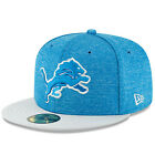 Detroit Lions NFL On Field Player Sideline Home 59FIFTY Fitted Cap Hat One Pride $27.99 USD on eBay