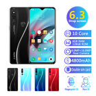 "6.3"" P36 Pro Android 9.1 Smart Mobile Phone 6gb+128gb Face Unlocked 4800mah Uk"