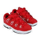 Osiris The D3 2001 1141 706 Mens Red Low Top Lace Up Athletic Surf Skate Shoes image